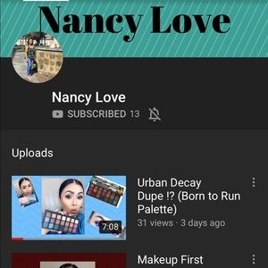 Other - Subscribe to my YouTube channel @Nancy Love